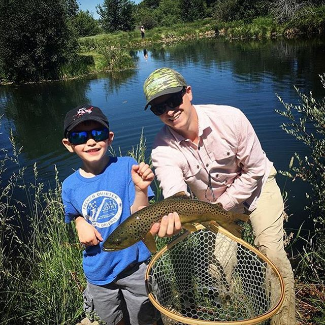 """Can't wait for my """"other job"""" to get rolling again! Similar to painting, guiding new anglers is a rewarding way to share my passion for the streams and rivers of Southwest Montana with others. #flyfishing #montana #troutart"""