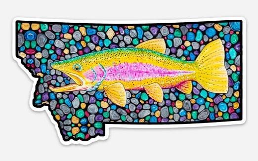 New sticker coming soon #flyfishing #montana