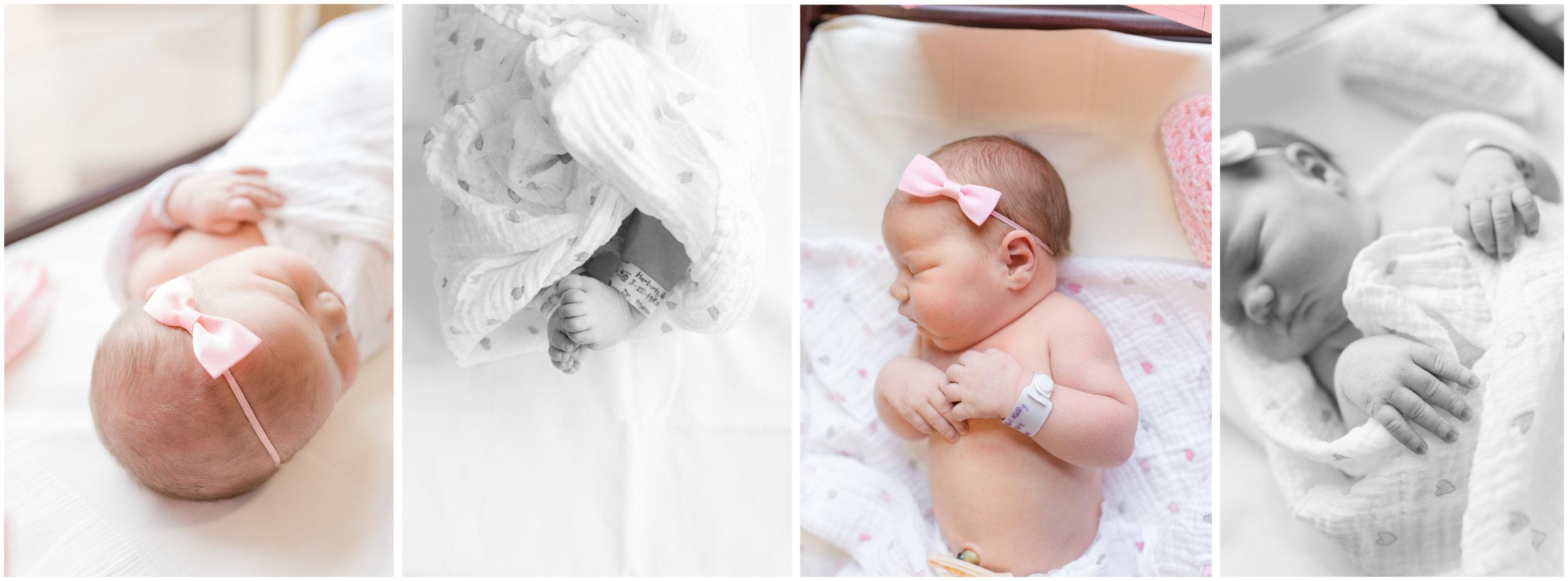 Baby Girl Fresh 48 at Avera Hospital In Sioux Falls South Dakota