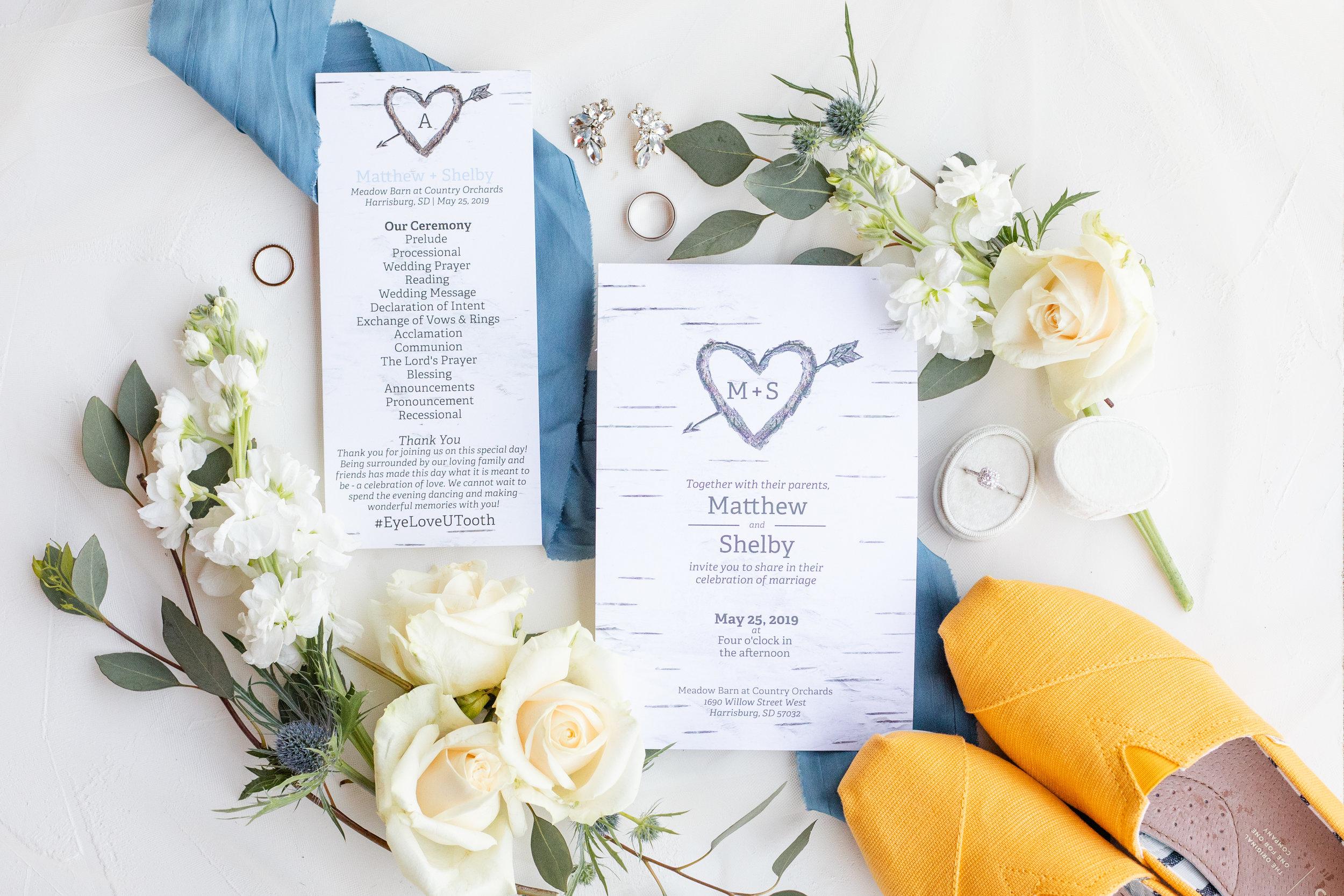Wedding Invitation Suit