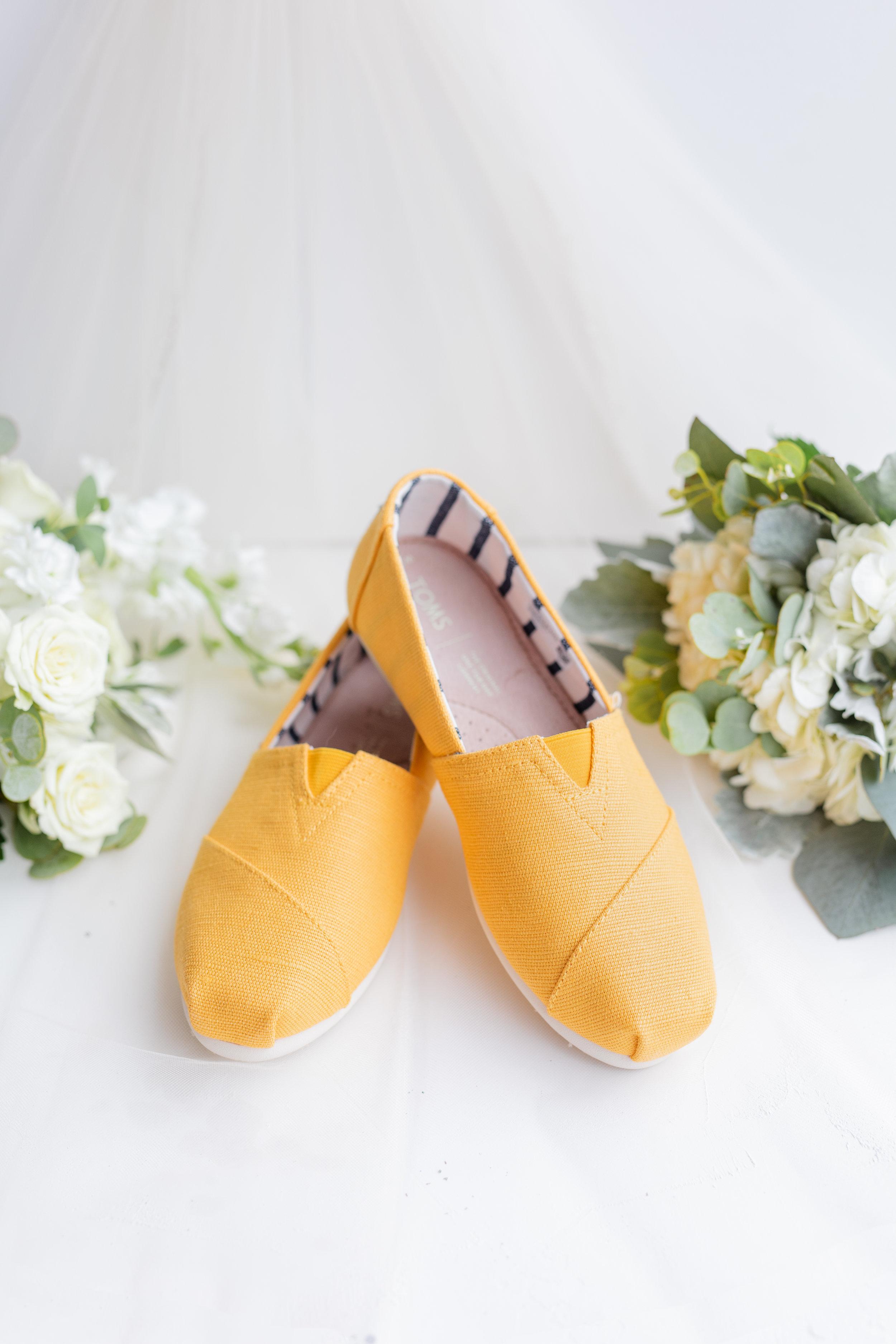 YellowTomWeddingShoes