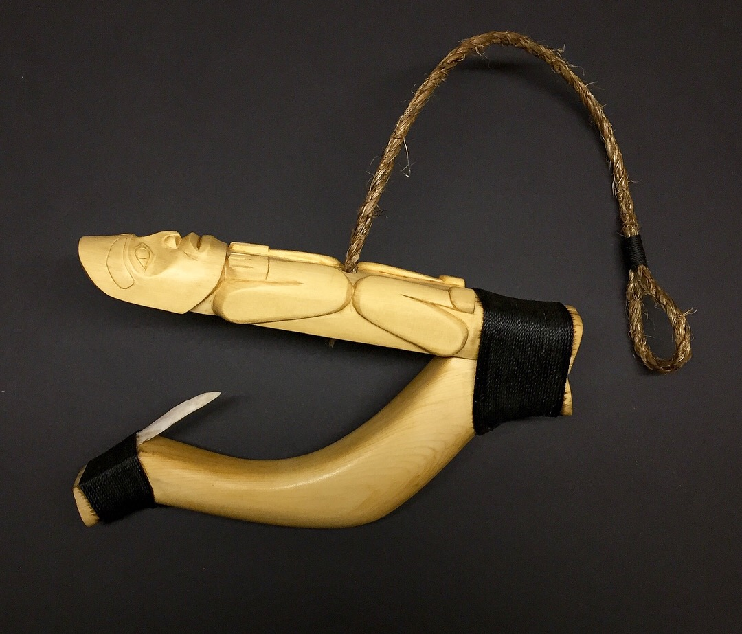 Halibut Hook / Yellow Cedar