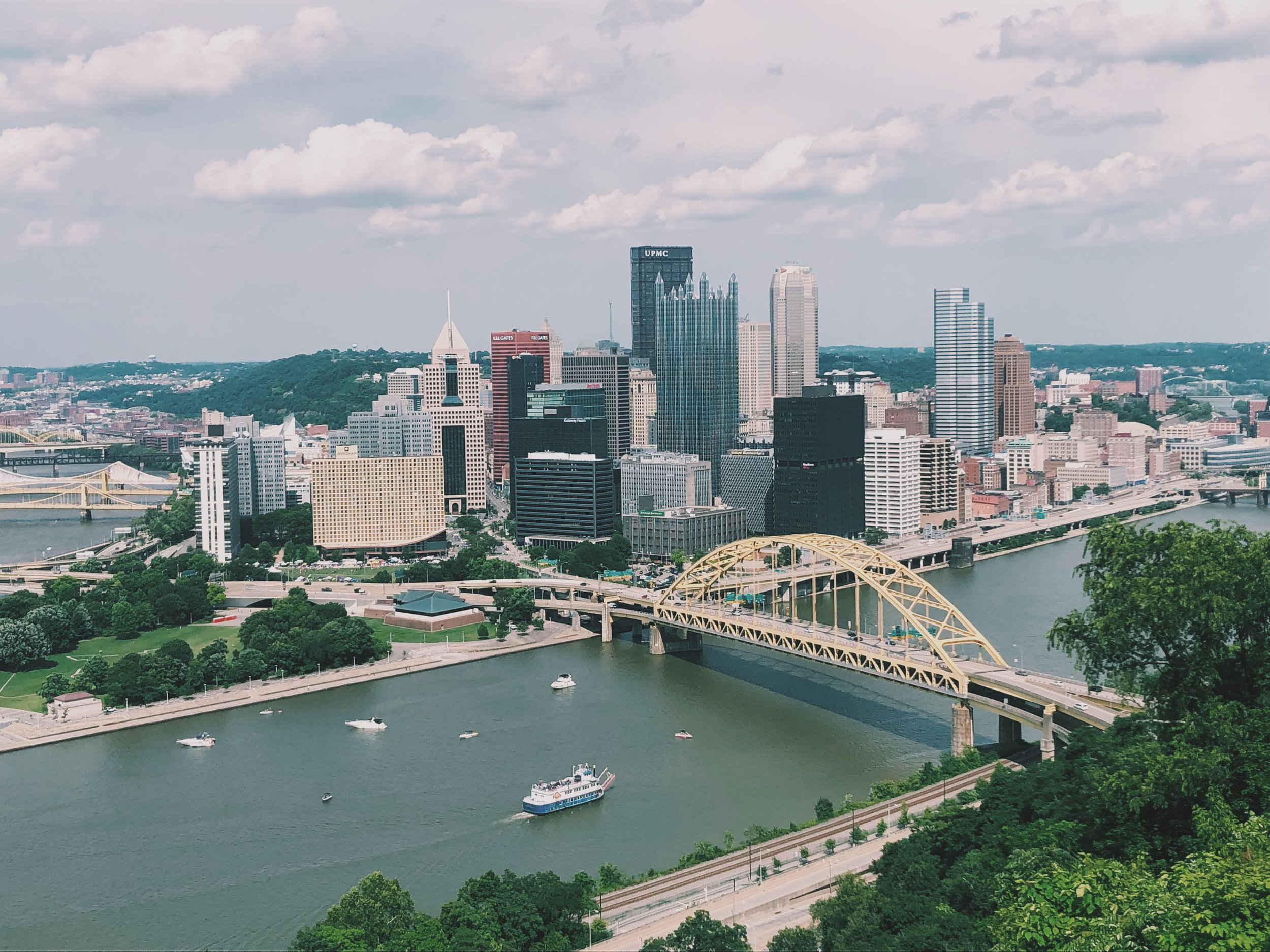 Pittsburgh Incline View