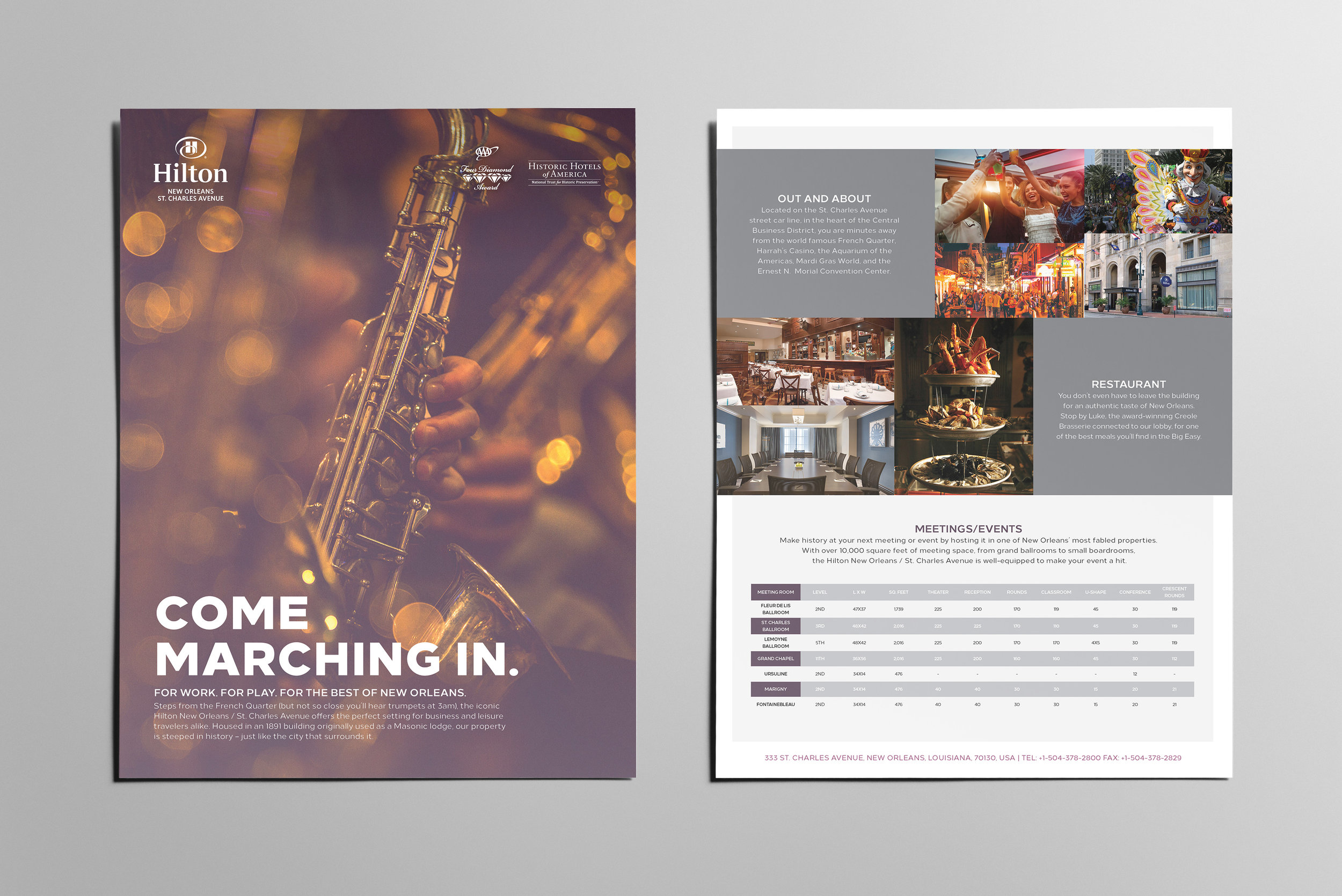 Hilton New Orleans - Meetings Brochure