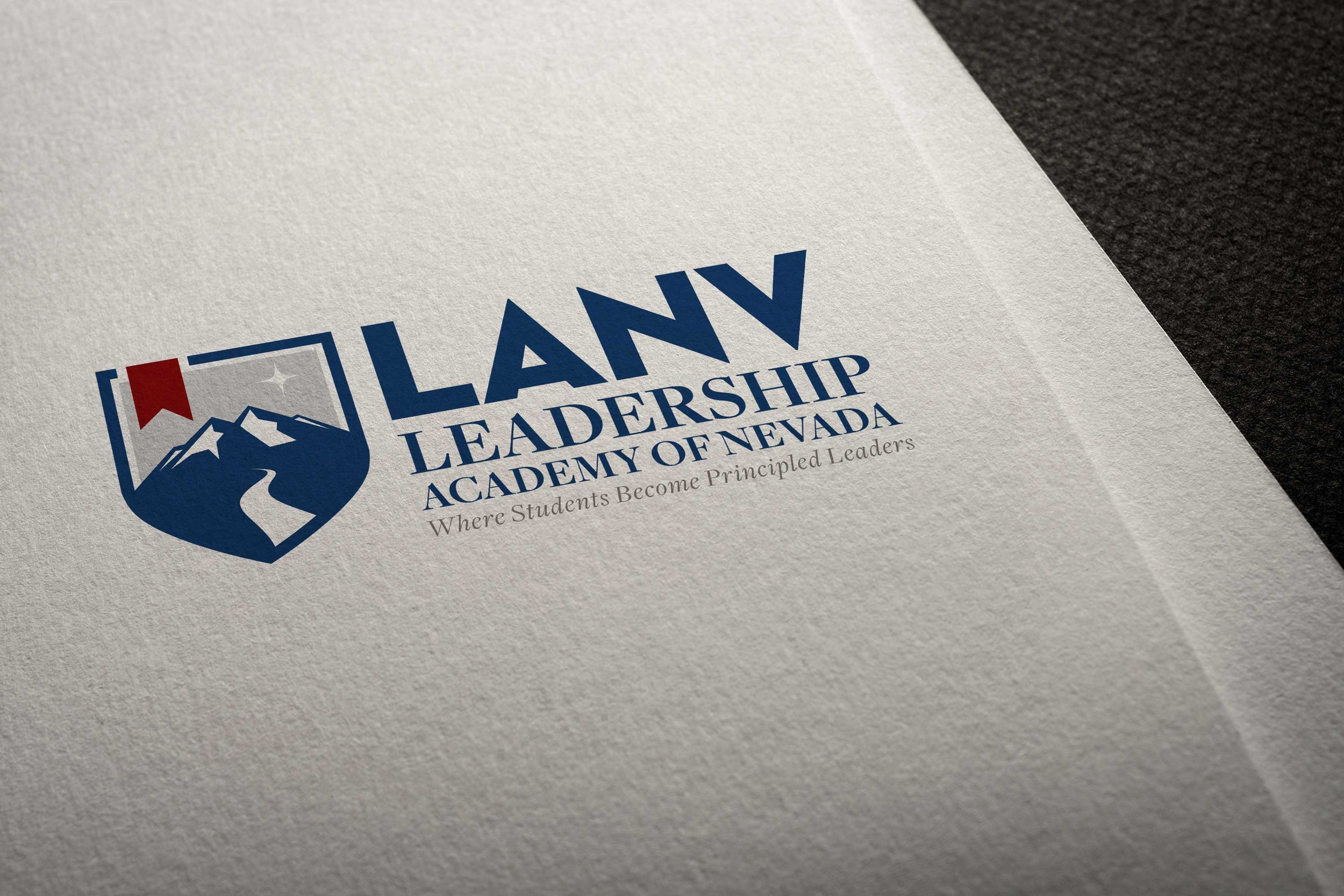LANV – Leadership Academy of Nevada - Logo Design