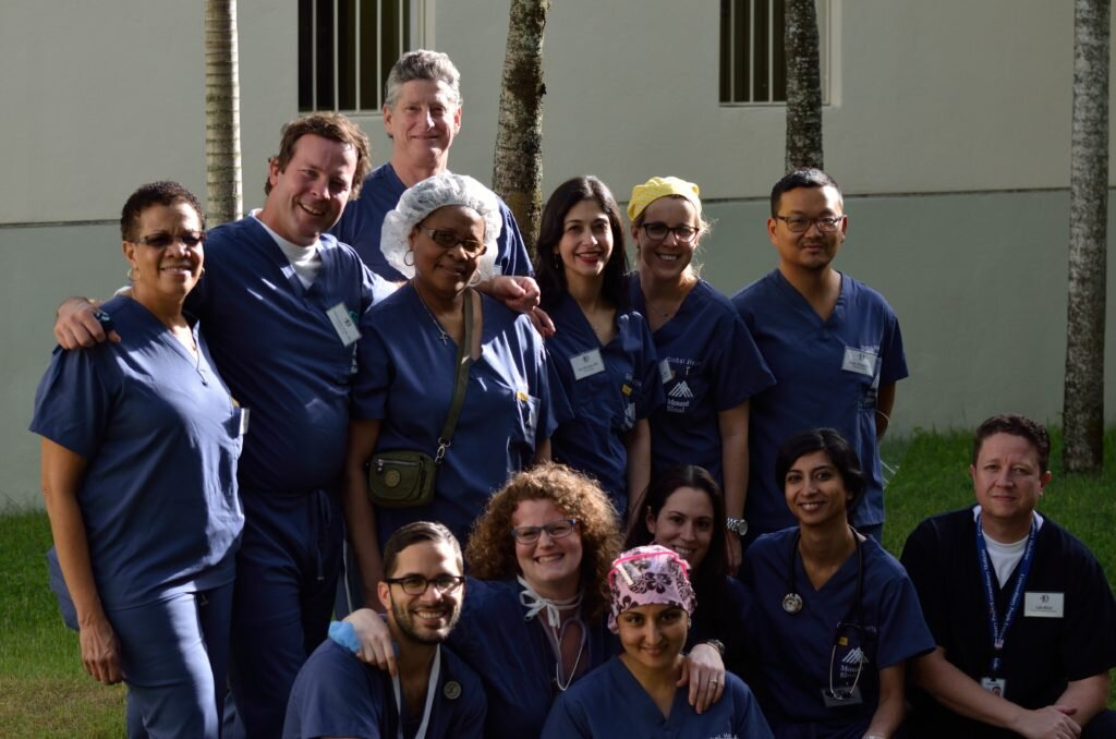 The doctors that make Saving Mothers possible.
