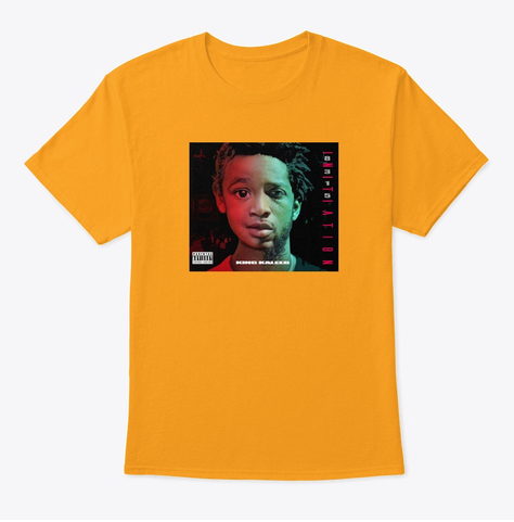 """""""INITIATION"""" shirts available in 15 colors! Click on the shirt to browse through the different options. Grab your """"INITIATION"""" shirts today!"""