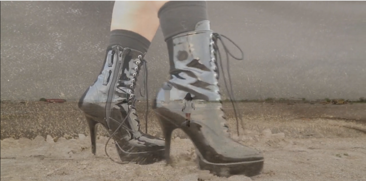 Video Still from  Leather  (2018) Captured by Ryan Lee Moore