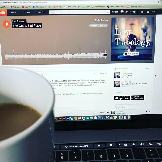 It's #podcastsaturday y'all! Grab a cup of joe and settle in for a great episode! . . . . . . . #getlow #lowtheology #podcast #podcasts #podcastlife #podcasting #jesus #jesuspodcast #christian #christianpodcast #badchristisn #theology #bible #heaven #hell