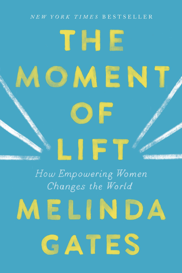 """- I've just starting to read her book - """"The Moment Of Lift - How empowering women changes the world."""" She's factual. She's intelligent. She's got the receipts to prove her statements, that educating girls, protecting their rights and giving them opportunities makes society better. It literally lifts us up as a whole. I love what her and her husband, Bill's charity, Gates Foundation is doing for the world. It's exciting and really amazing.Get to know what the Gates Foundation are up to at www.gatesfoundation.org Get educated, phatties."""