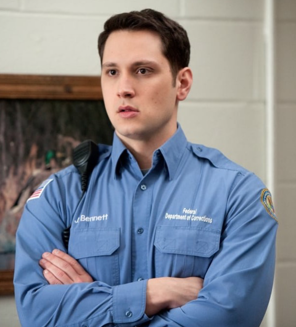 - You may recognise him as the thirsttt quenching John Bennett in Orange Is The New Black but hear me out a minute - there's more than meets the eye here.