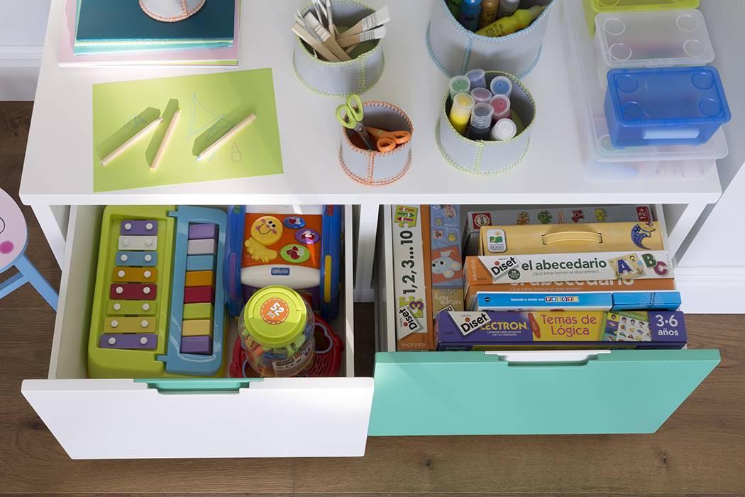 Habitación juguetes niños