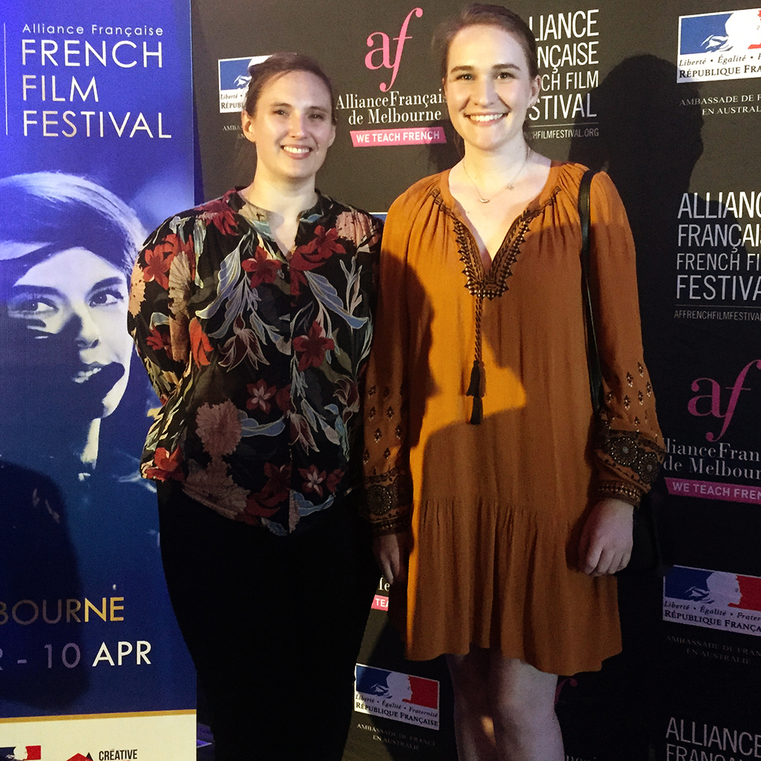 French Film Festival Opening Gala - 10.03.19We had such a great time at the Alliance Française French Film Festival Melbourne Opening Night Gala this week. The film 'En liberté!' was marvellous and très drôle! It was nice to take a moment out of our crazy lives, we spend most of our spare time working on our Indiegogo campaign! If you haven't checked it out you can just click the picture and it will take you there. Merci beaucoup to all our fabulouse funders so far, they are très magnifique!