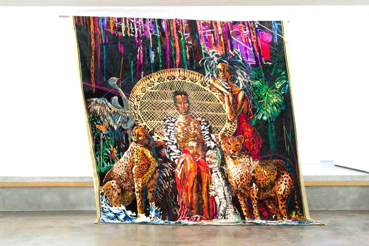 Athi-Patra Ruga, Lizalis Indinga Lakho/Autistik Imperium , 2014-2017   Installation view:  WHATIFTHEWORLD , Cape Town