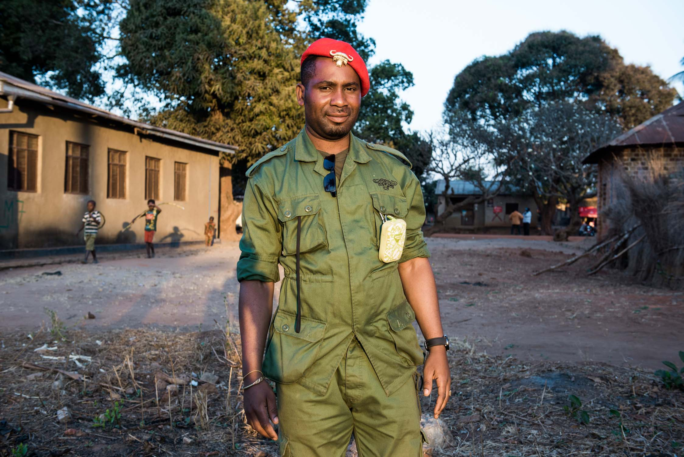 A District Game Warden at Namtumbo District.