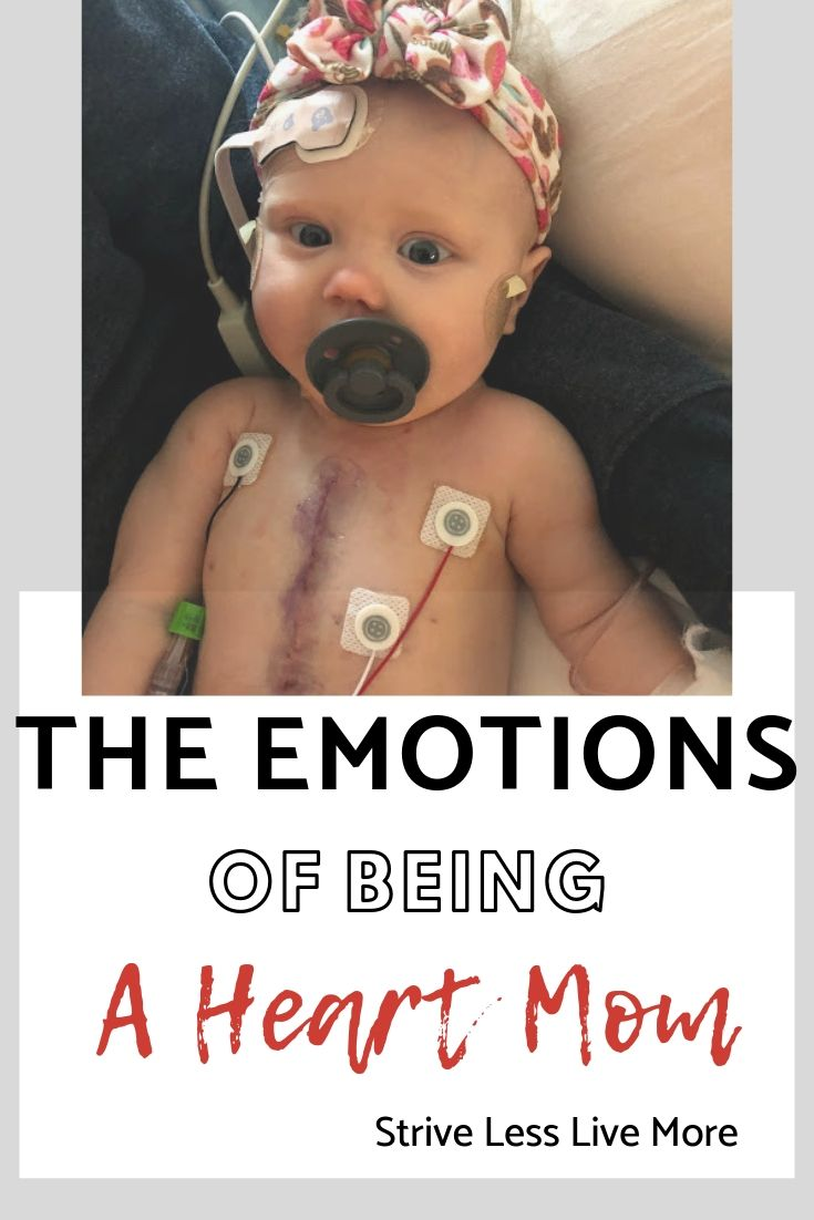 Baby who just had open heart surgery for her congenital heart defect. Letter to the moms who know how emotional it is to be a heart mom. Support for CHD moms.