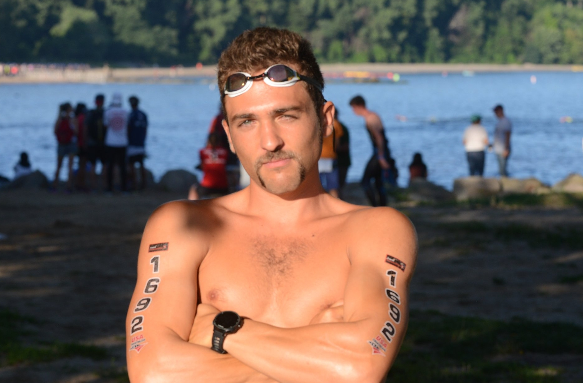 I spent the entire summer perfecting my pre-race game face