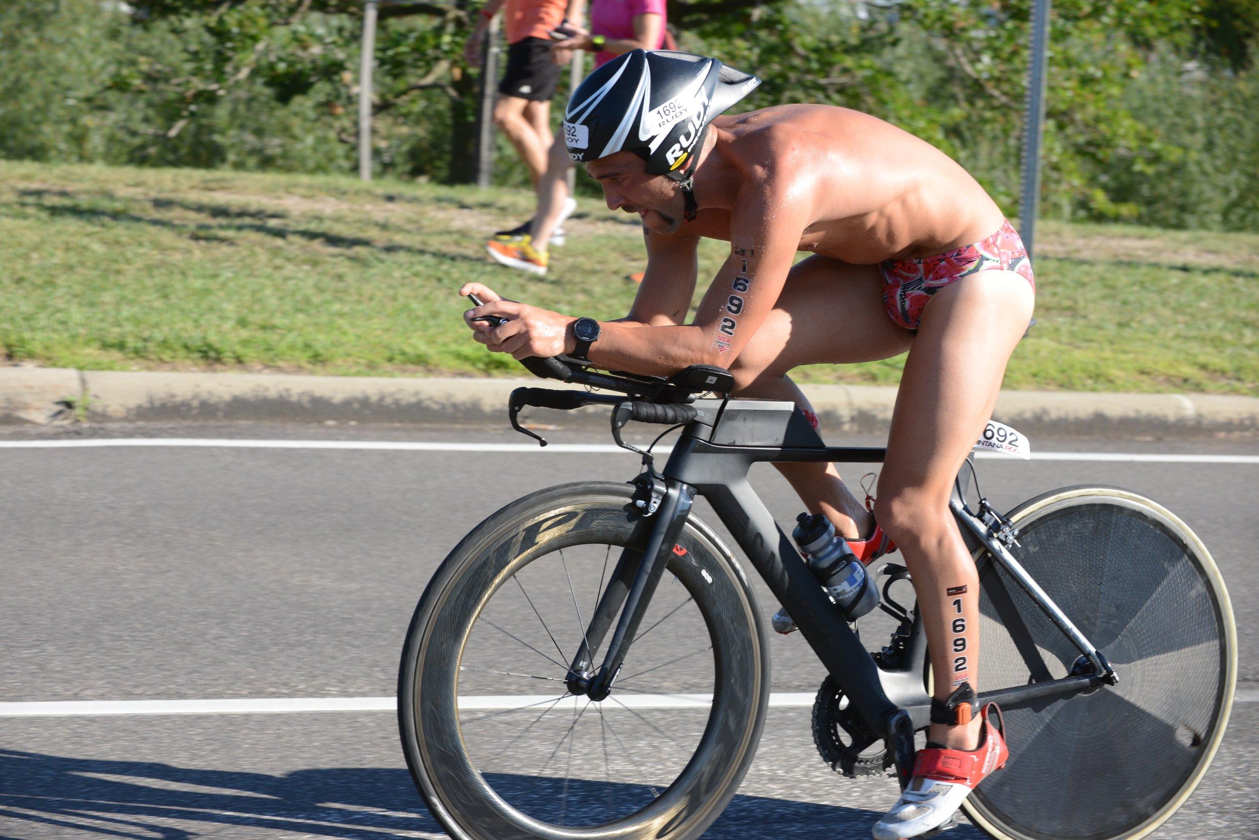 4th fastest bike split of the day proves that #skinisthemostaero