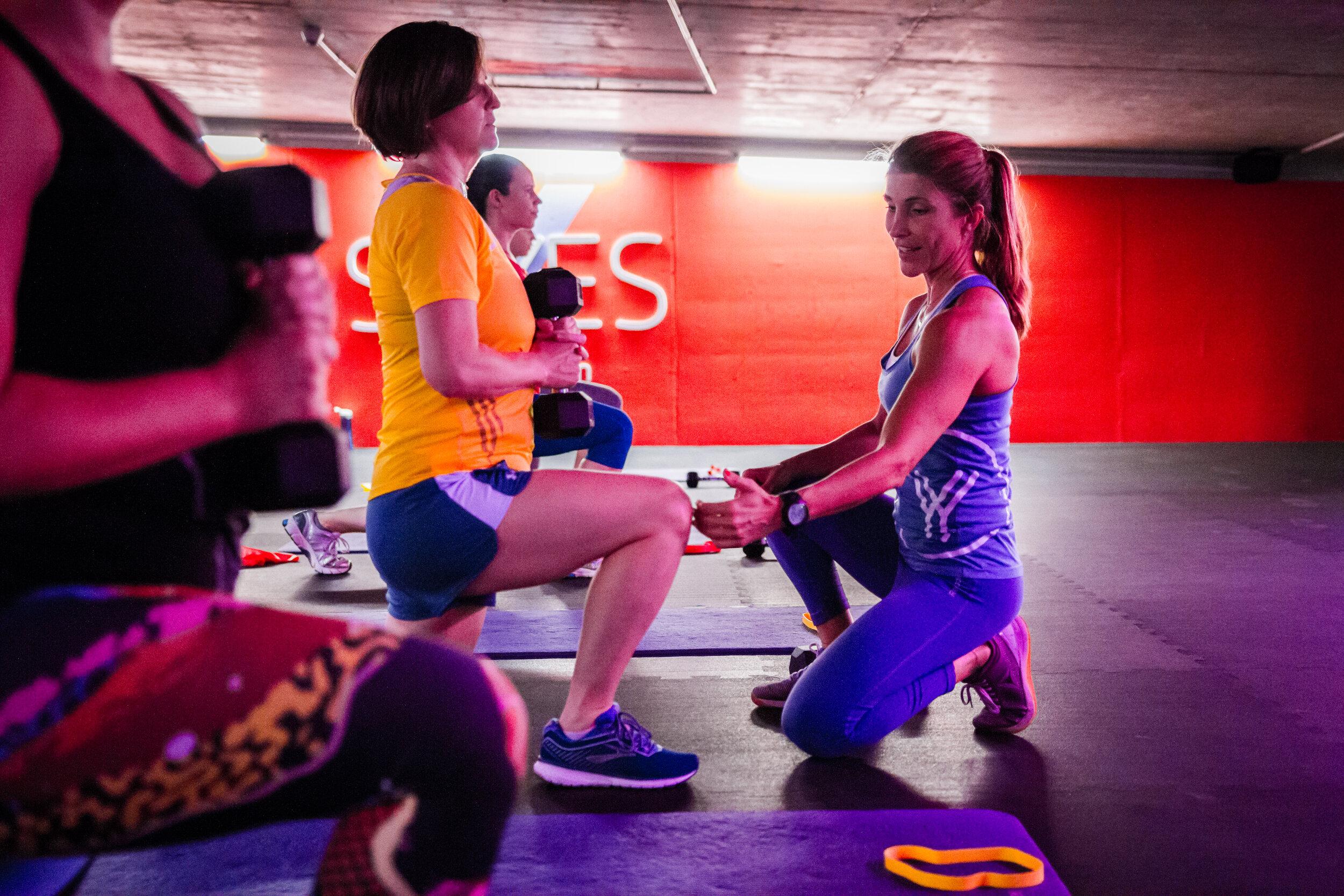 Willkommen bei SAYYES - Durch persönliche Betreuung passen wir das Training deinem Fitnesslevel an, so dass du von Anfang an das bestmögliche für dich herausholen kannst.