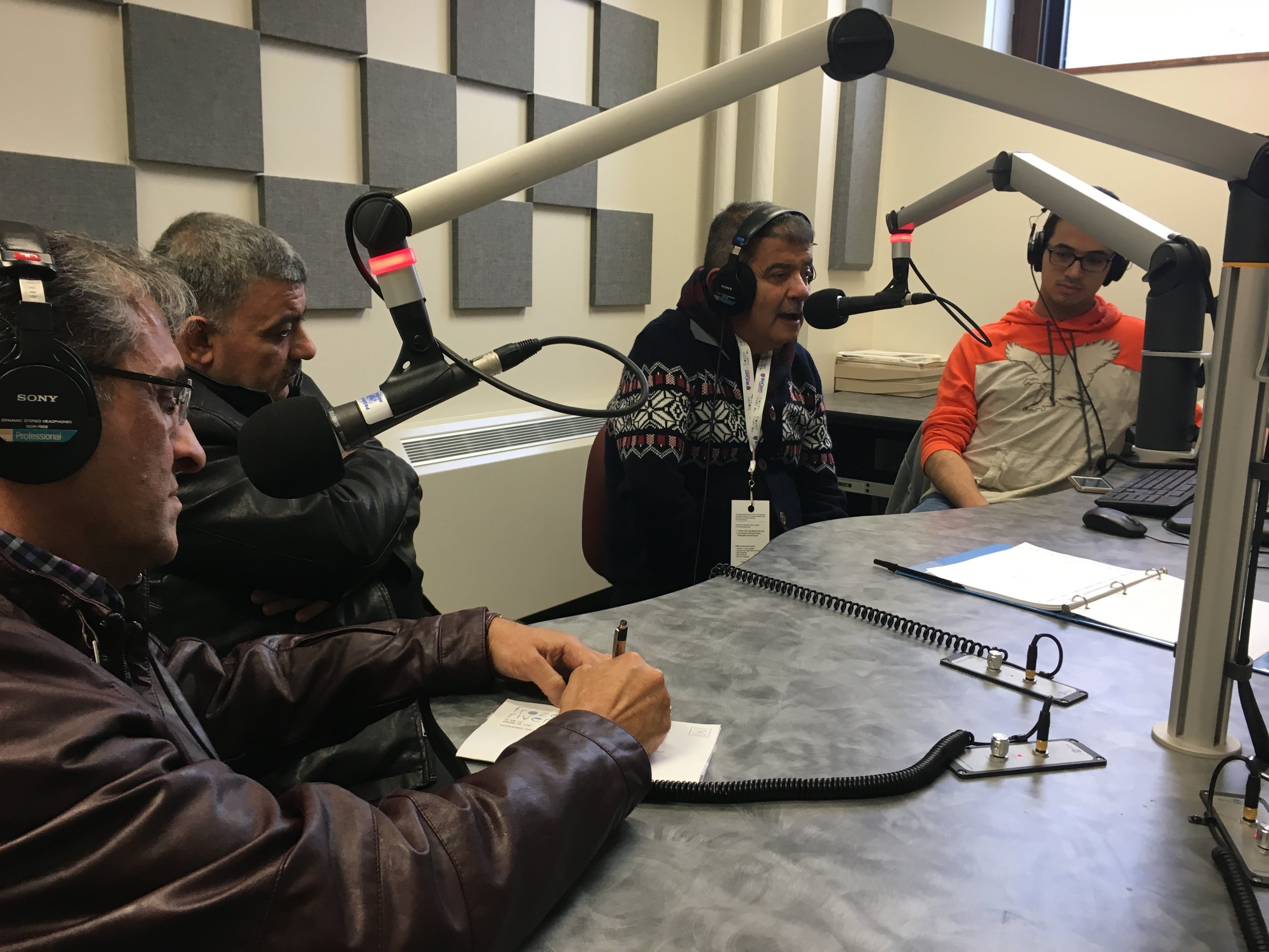 Iraqi Voices Radio Interview