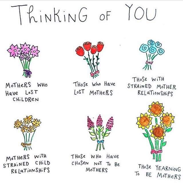 Also thinking of all those who may be struggling today. Whatever the reason, please be gentle with yourself 💚 #survivingmothersday #youarenotalone #bekindtoyourself