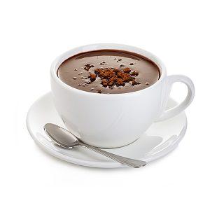 Cioccolata da bere nera