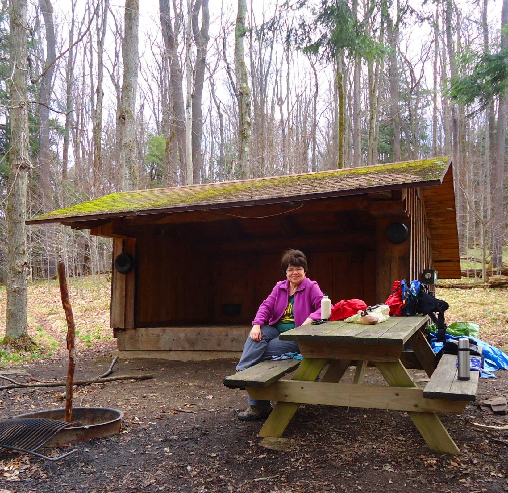 Donna Flood at Allegany State Park
