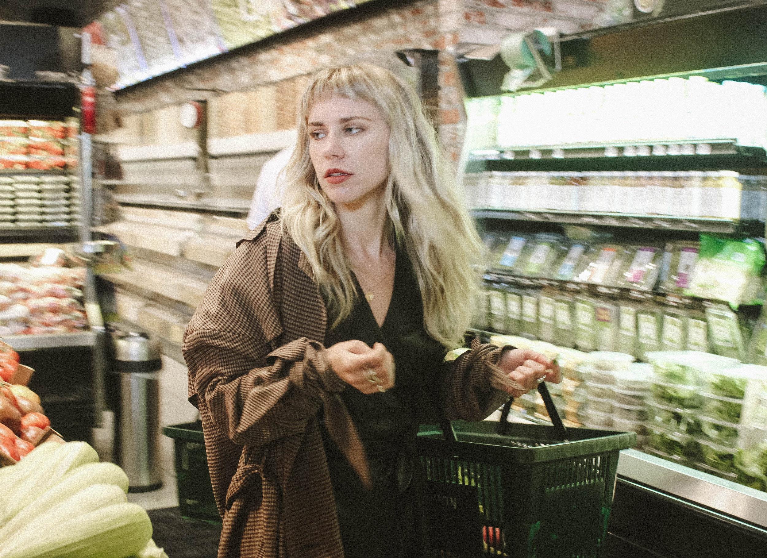 Alamo coat    €620  Penelope dress    €570