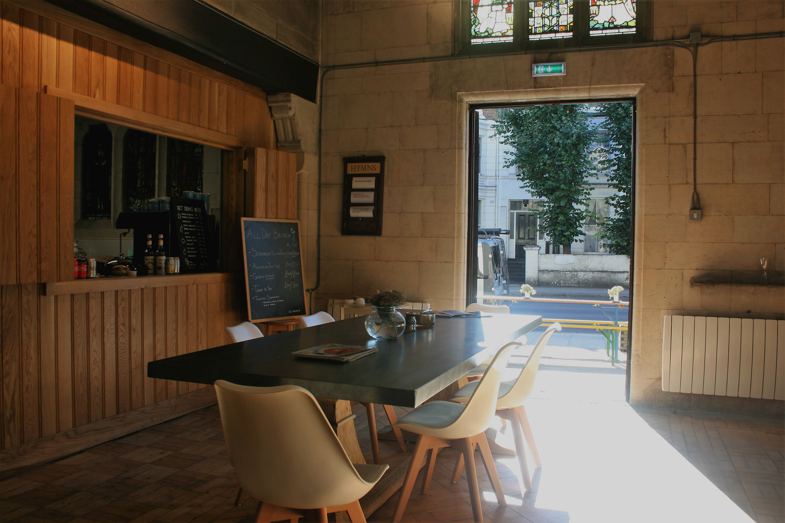 St John's Community Space & Café - Capacity: 15 sitting or 25 standingHourly rate: £20