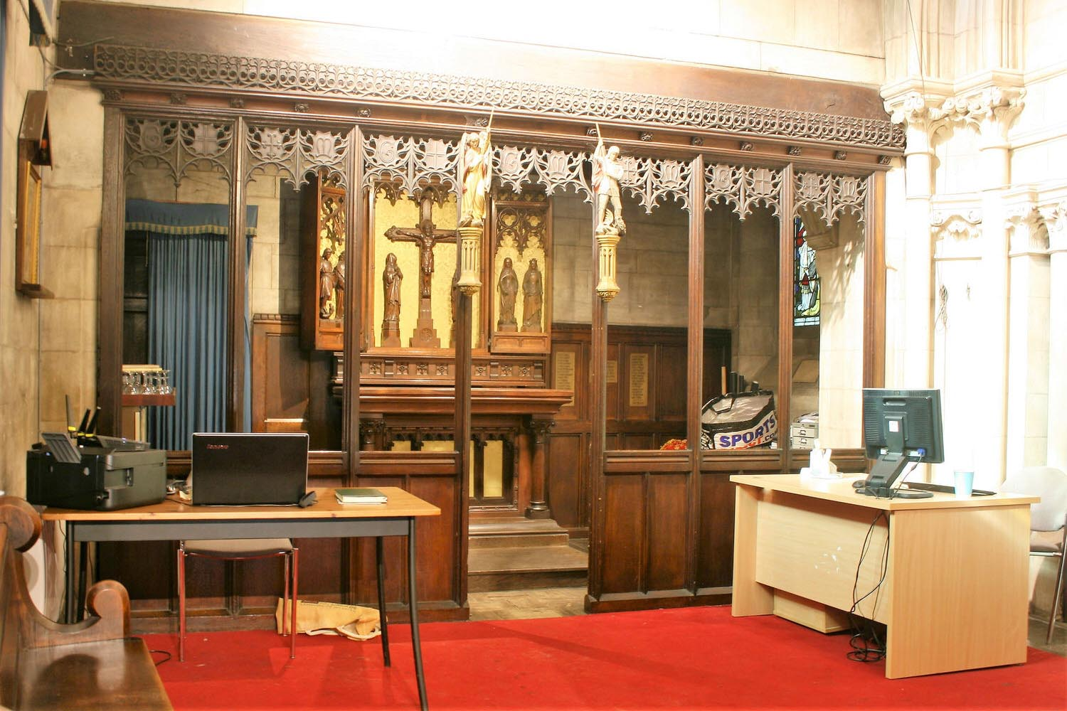 The Chapel of St Michael & St George at St John's - Capacity: 10 sitting or 15 standingHourly rate: £15