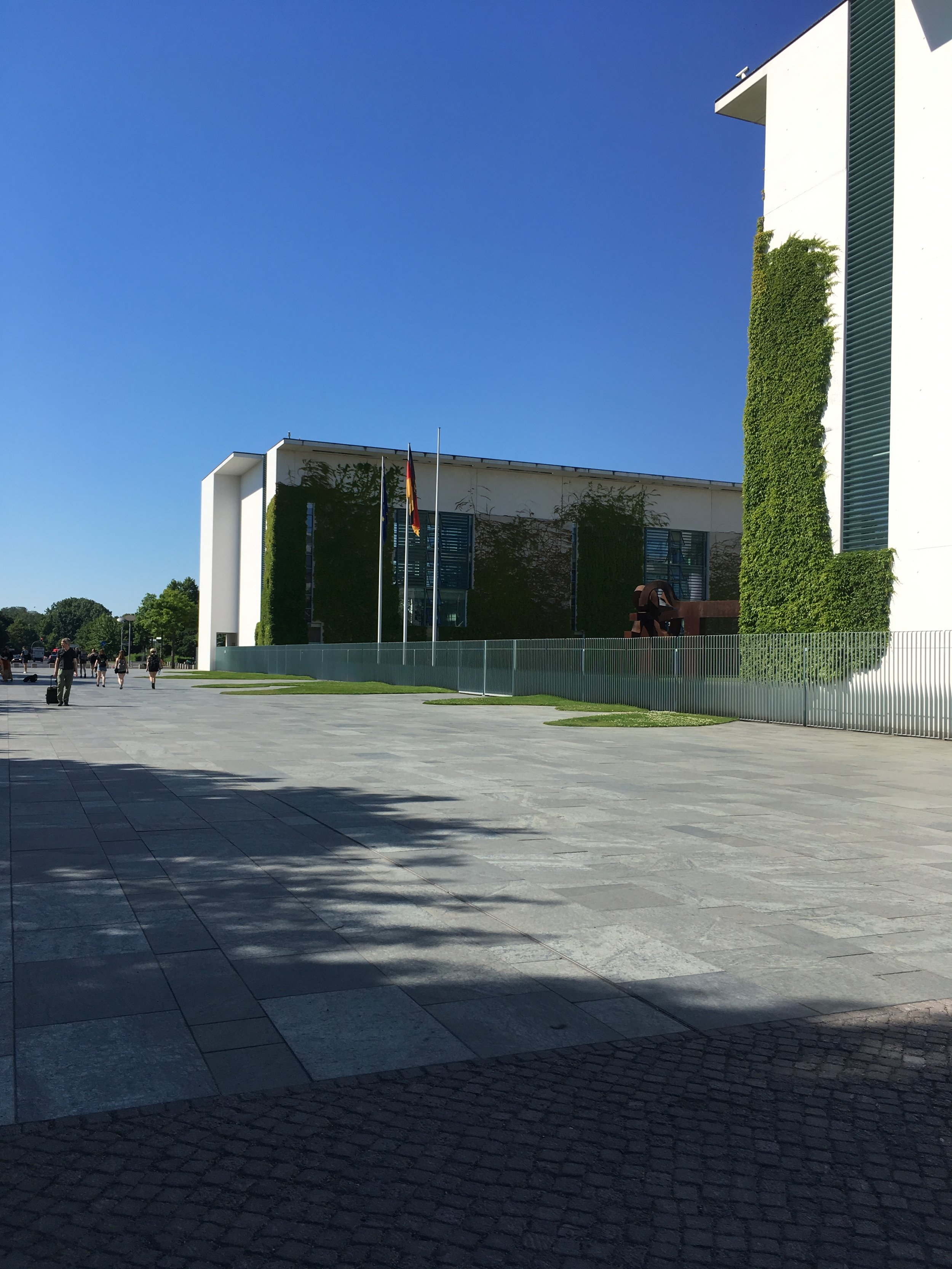 Ankunft am Bundeskanzleramt in Berlin