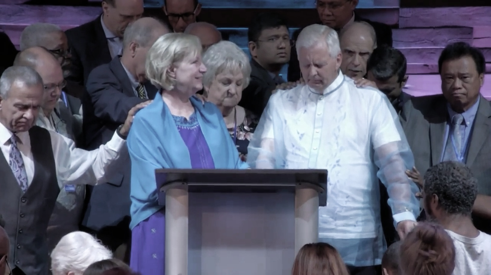 Prayer During Worship Service on Sunday, July 8th