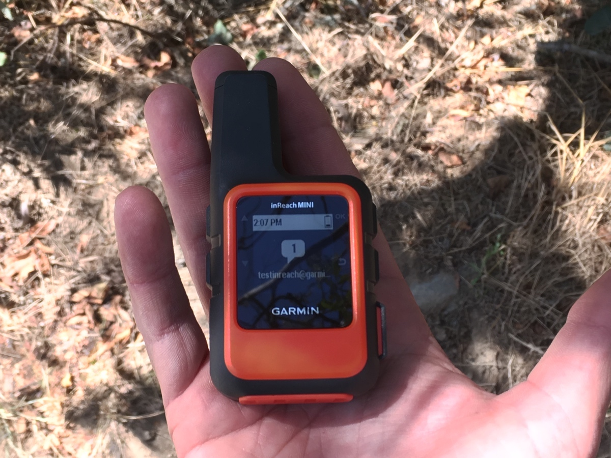 The Garmin InReach Mini is an AJ fave satellite messenger.
