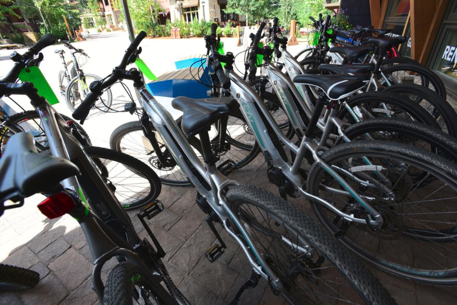 """""""The new policy benefits primarily the makers of electric mountain bikes, whose website encourage riders to blast throughout our backcountry trails and set new speed records,"""" said Darrell Wallace, chairman of the Back Country Horsemen of America.  Alex Ignath/Special to the Aspen Daily News"""