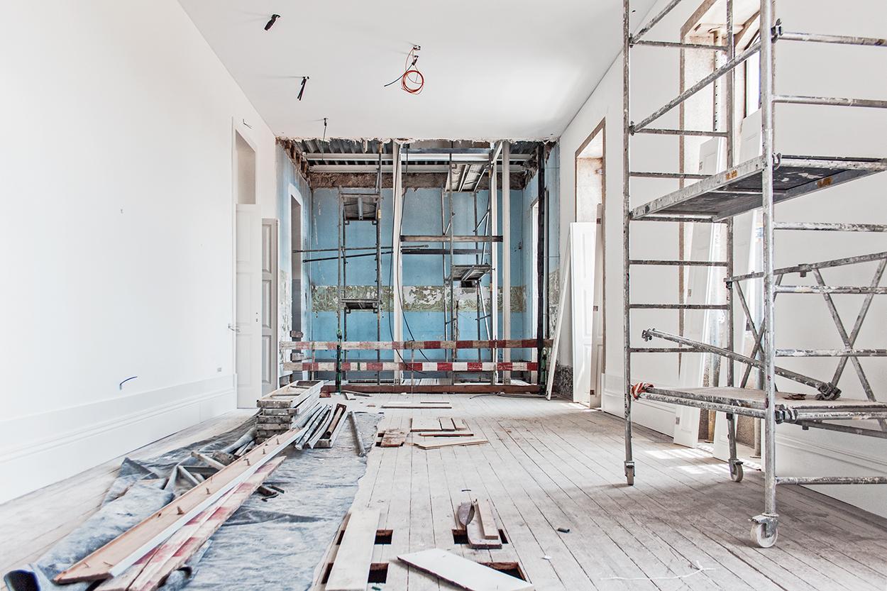 santa casa da misericórdia do porto headquarters, rehabilitation phase, 2016