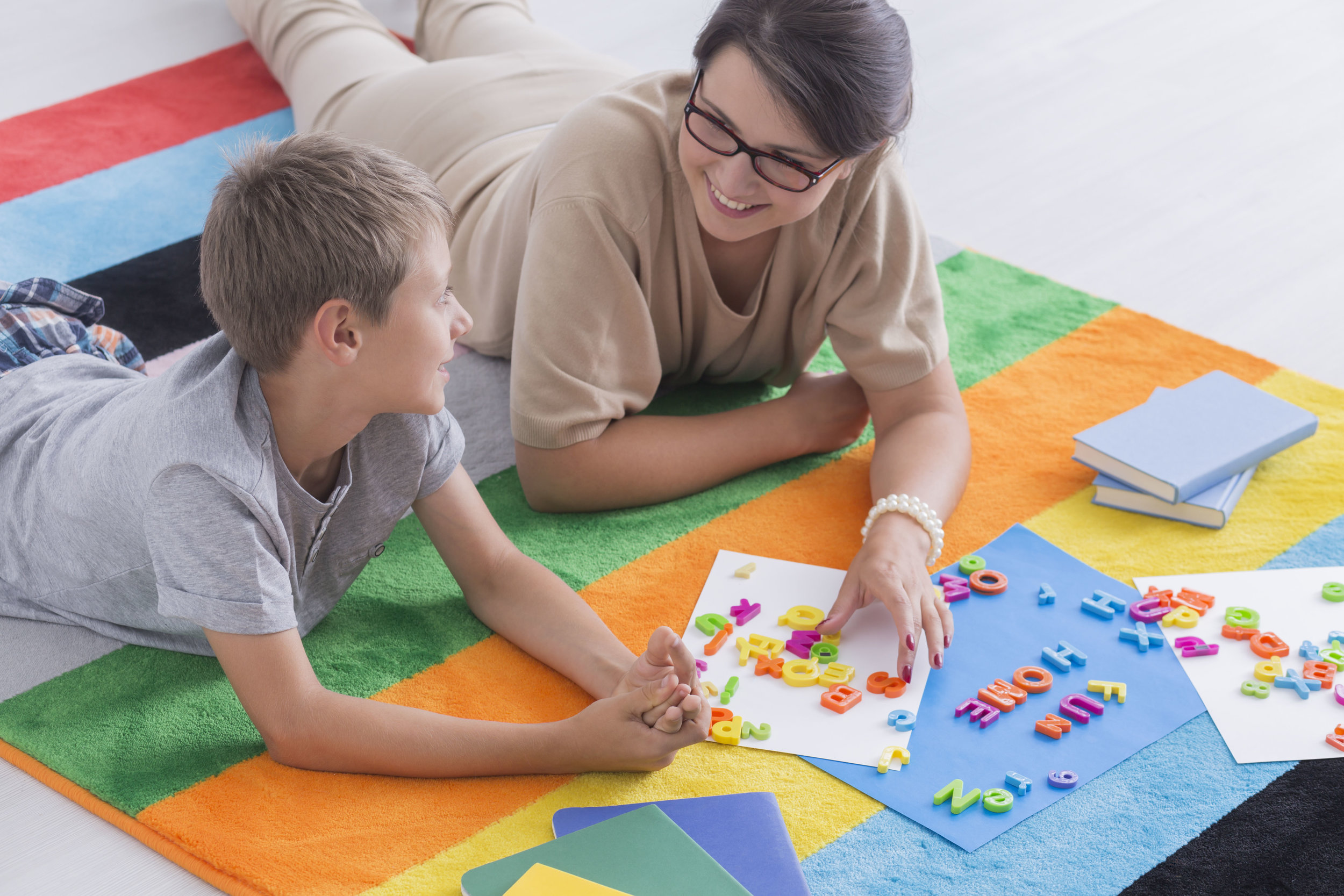 Private speech therapy at home