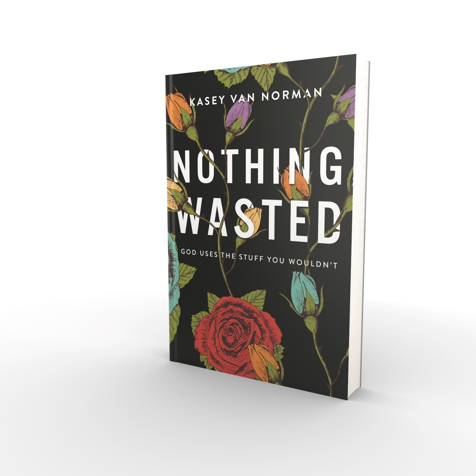 Nothing Wasted - We all have past experiences we wish we could redo, undo, or hide altogether. In Nothing Wasted, counselor and teacher Kasey Van Norman shares how God revealed his specific plan for her life through the most unlikely, embarrassing, and painful seasons of her past. Her vulnerability invites you to discover God's personal and purposeful design for your future, not in spite of your story, but through it.AVAILABLE NOVEMBER 12