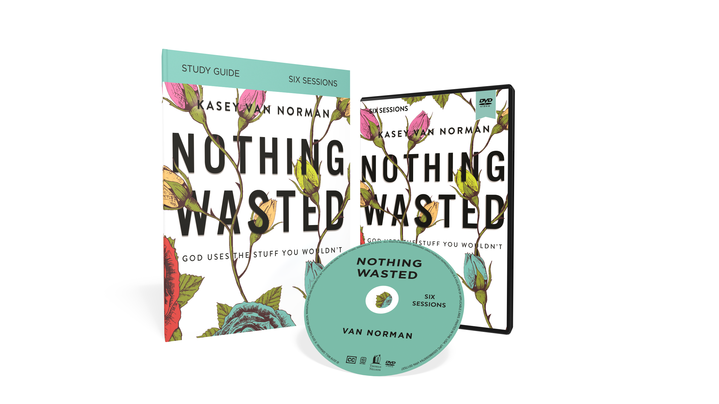 NOTHING WASTED - 6 SESSION BIBLE STUDYAvailable November 12 (pre-order wherever Christian books are sold).
