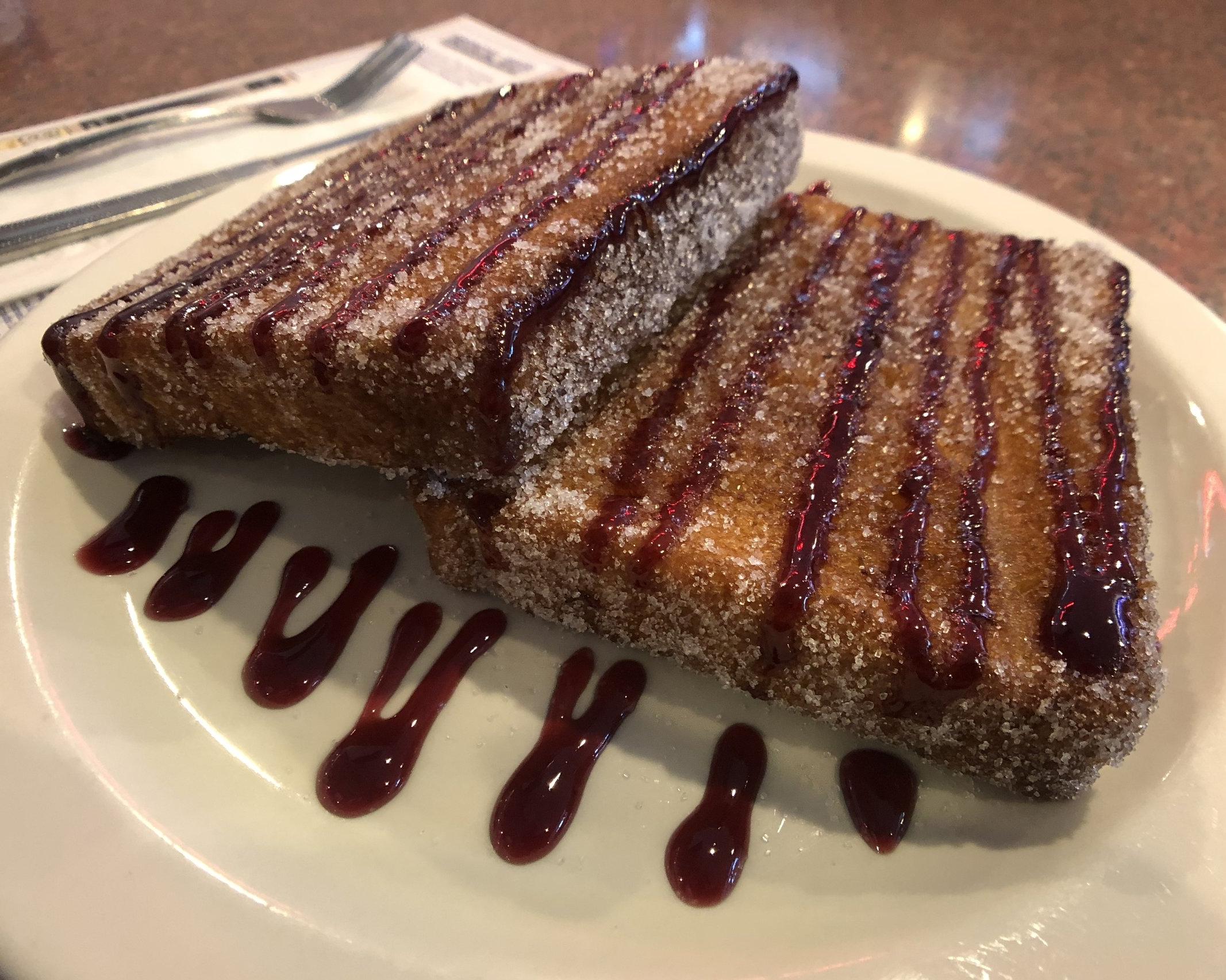 Jelly Donut French Toast