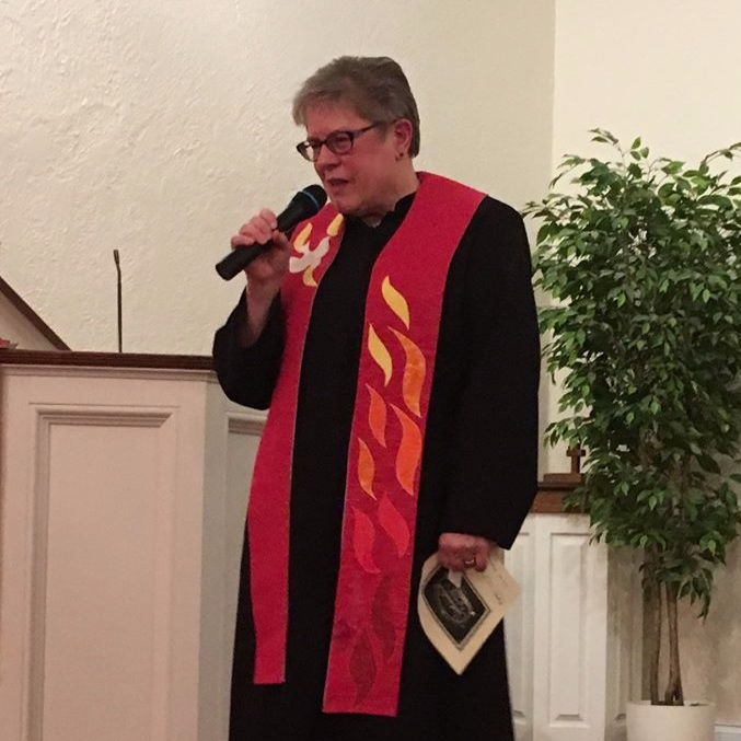 Rev. Sue Greenwood,Co-Facilitator - Sue serves as the pastor of First Congregational United Church of Christ of Coloma. A graduate of Chicago Theological Seminary, she has a passion for justice issues including the environment and loving all of our neighbors.