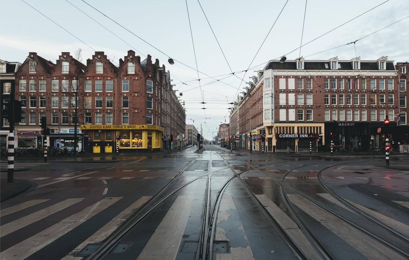 Desolate Amsterdam