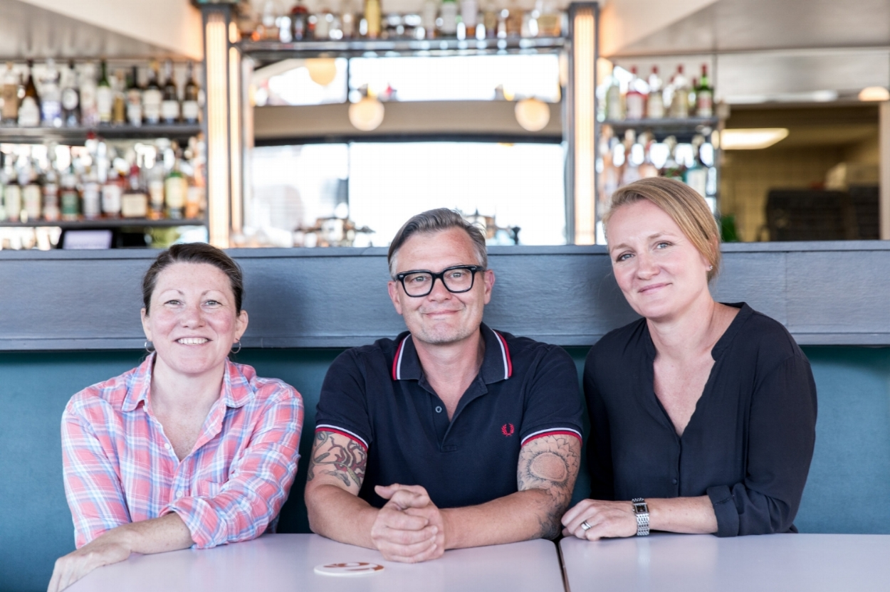 Chef Courtney Loreg, Birch Shambaugh & Fayth Preyer
