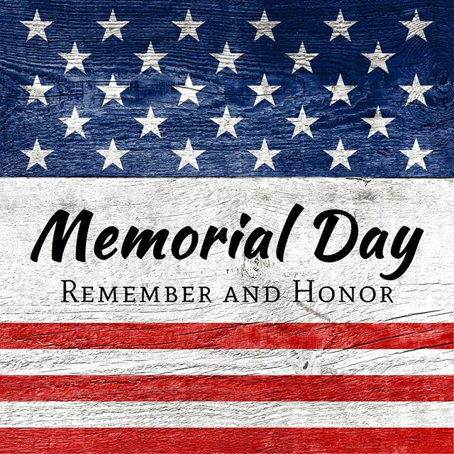 This Memorial Day, and every day, we honor the sacrifices many have made to help protect our freedom #MemorialDay.