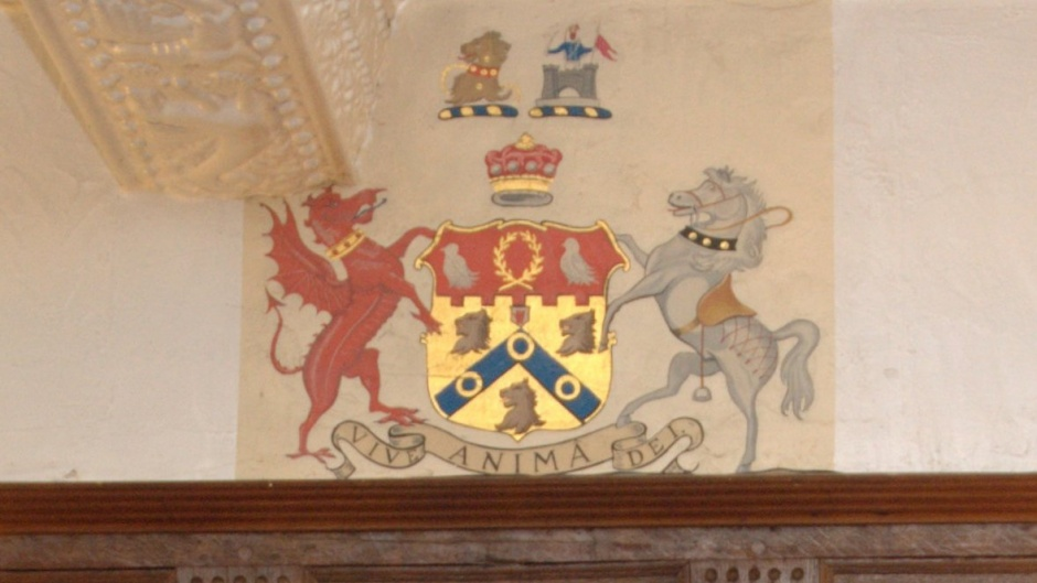 Coat of Arms at the Hotel