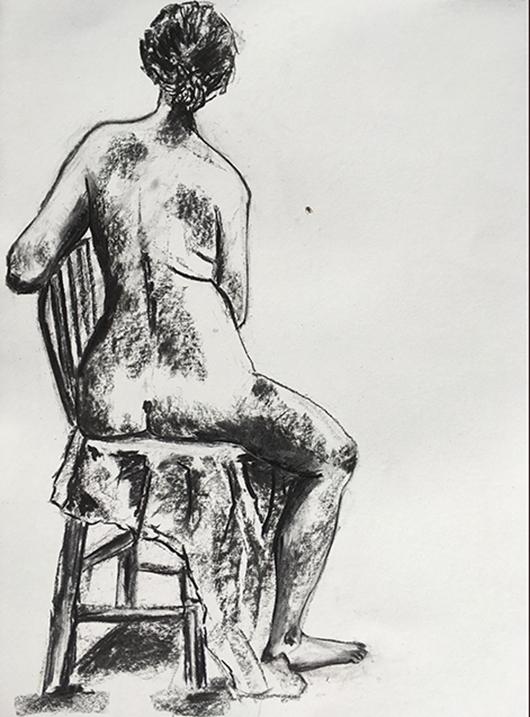 Drawing by Lori Whitaker