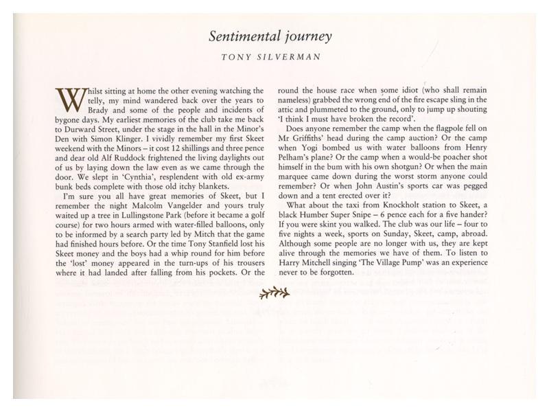 P105 Sentimental Journey