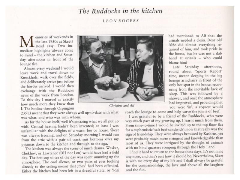 P58 The Ruddocks in their Kitchen