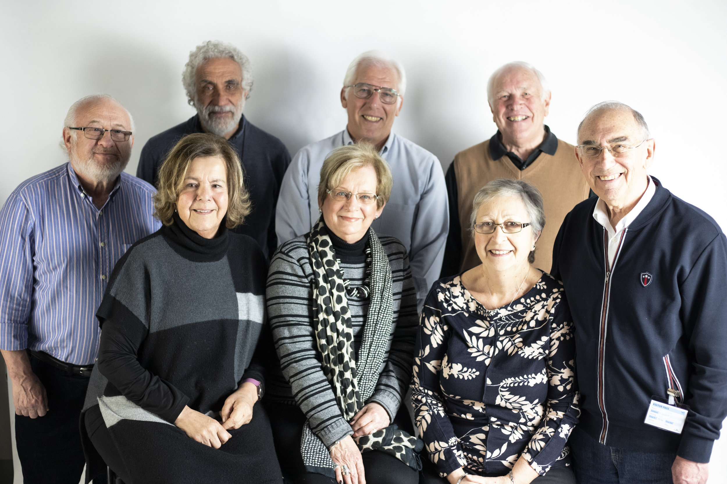 The Brady Photographic Exhibition Committee. Photo taken by Shanette Savage.