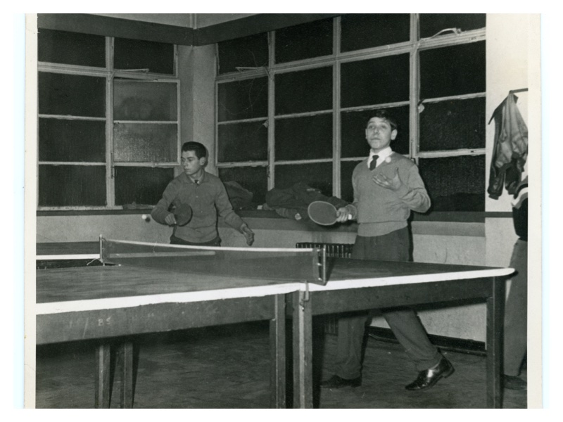 C171 Table Tennis at the Old Club in Durwood Street