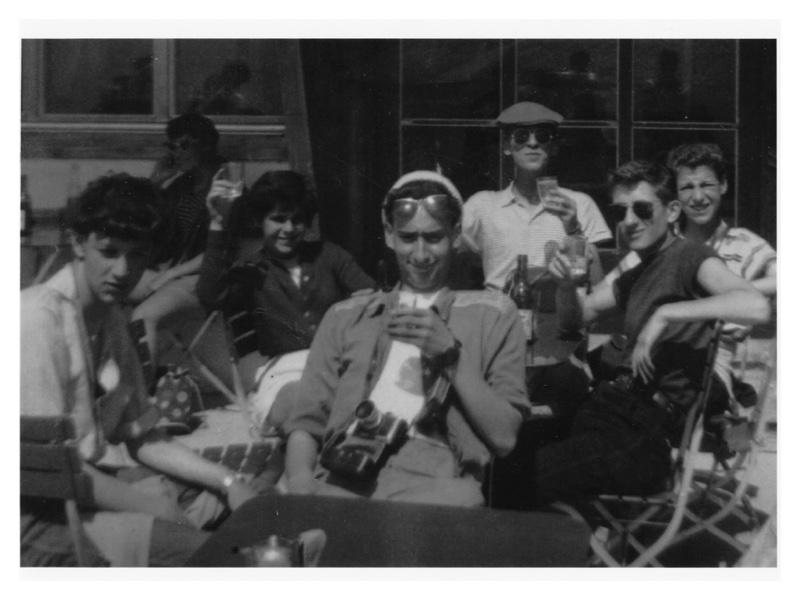 C2025 Switzerland 1958: Kleine Scheidegg - Jungfrau: Geoff Bentley - Brian Goodman - Carol Mayer - Maurice Mitzmaker - Freddy Shaw - Keith (?)